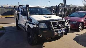2009 Toyota Hilux Space Cab Tray Ute TURBO DIESEL 4X4 Williamstown North Hobsons Bay Area Preview