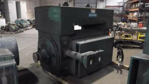4500 HP Siemens AC Electric Motor, 3600 RPM, Fr. 6813, WPII, 4000 V, EOK
