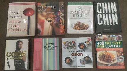 Cookbooks great selected  Rozelle Leichhardt Area Preview