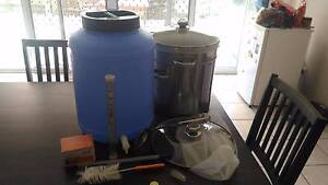 Home Brew Kit Including Fermenter + 48 Tall Glass Bottles + More Algester Brisbane South West Preview