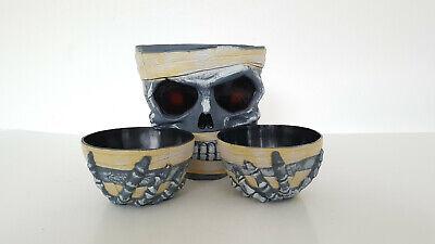 Halloween Dekoration, gruselige Party, Horrorhaus, Skelett, Mumie, Schale, - Halloween Skelett Dekoration