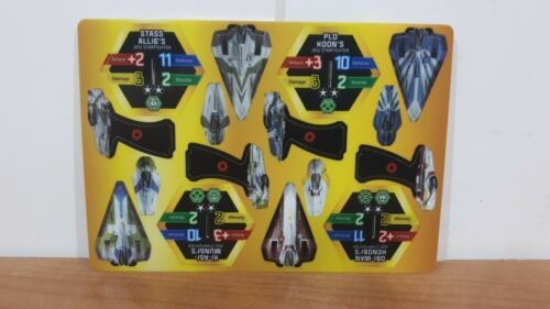 Star Wars PocketModel TCG Order 66 - Jedi Starfighter Obi-Wan 18 RARE