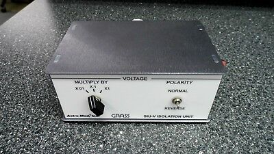 Astro-med Inc. Grass Instruments Siu-v Constant Voltage Stimulus Isolation Unit