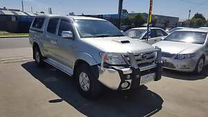 2007 Toyota Hilux SR5 Duel Cab Ute AUTO TURBO DIESEL 4x4 Williamstown North Hobsons Bay Area Preview