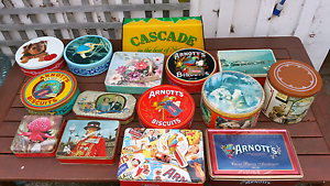 Arnotts Biscuit Tins. Ross Northern Midlands Preview