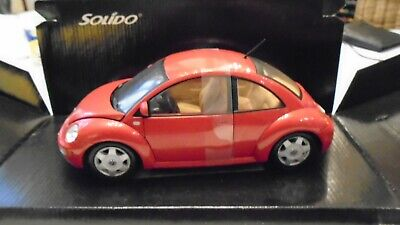 VW NEW BEETLE SOLIDO CLUB 1/18 rouge