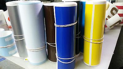 "6""x60"" Vinyl Windshield Banner Decal Strip Racing Stripe Sticker Window Blank"