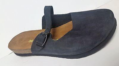 Comfortusse Blue Suede Birko-Flor Slide Fashion Sandals Women's Shoes 36/L5