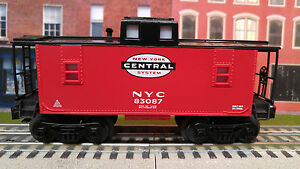 Lionel New York Central Red Caboose 83087 O Gauge Train Car NYC 6-82984 C