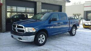2017 Ram 1500 CREW CAB,4x4, A/C,CRUISE,MAGS