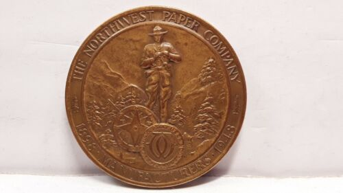 1948 The Northwest Paper Company So Called Dollar Token Medal Coin