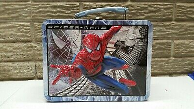 2006 Spider-Man 3 The Movie Marvel Metal Lunch Box FREE SHIPPING