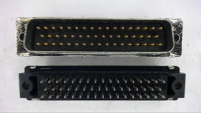 Amp 748090-2 50-pin Straight Housed Connector New Lot Quantity-5