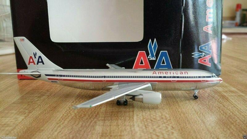 Black Box/Aeroclassics American Airlines A300B4-605R 1:400 1990s Polished N80084