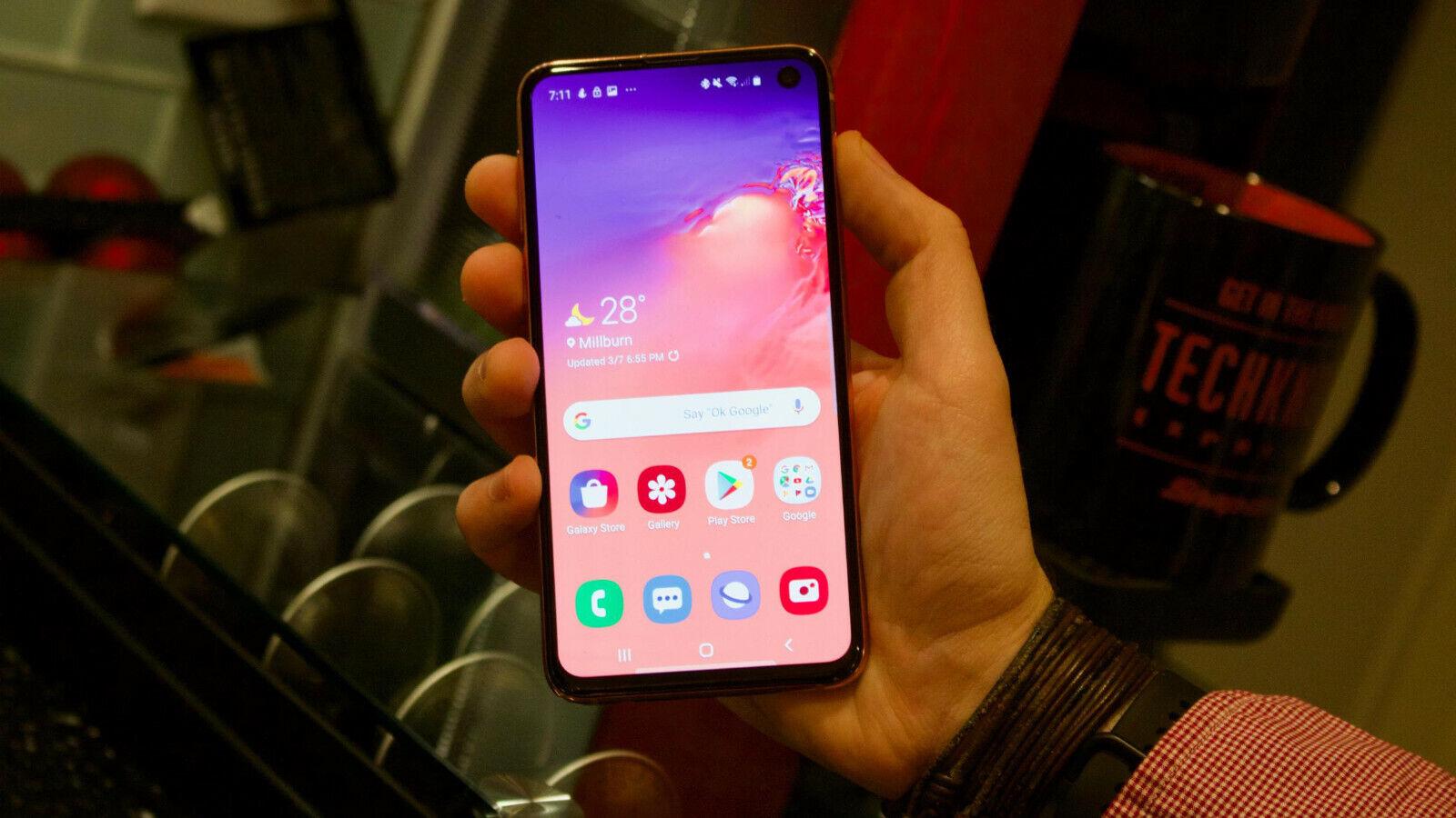 Android Phone - Samsung Galaxy S10e SM-G970F - 128GB - Prism White (Unlocked) (Single SIM)