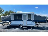 2007 FLEETWOOD SUN VALLEY POP UP TRAILER  with A/C and Toilet