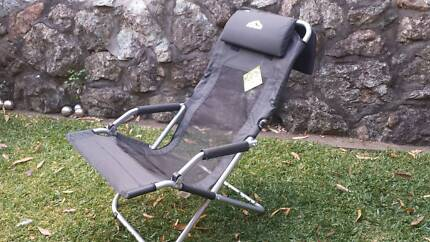 Roman camp chairs (2) Sling deluxe NEW Port Macquarie 2444 Port Macquarie City Preview