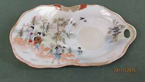 Rare: antique Japanese tennis tea platter Petrie Pine Rivers Area Preview
