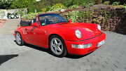 Porsche 964 Carrera 2 Cabrio - Deutsch TOP + Scheckheft