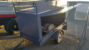 Enclosed steel trailer suitable for tradesman or moving stock South Fremantle Fremantle Area Preview