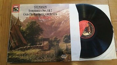 SVENDSEN SYMPHONIES Nos 1 & 2 OSLO PHILHARMONIC ORCHESTRA MARISS JANSONS  LP