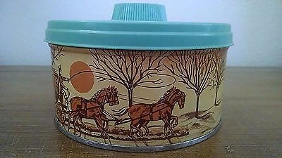 Vintage Advertising Tin Cherrydale Farms Cashew Butter Crunch VTG