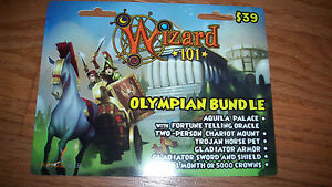 Wizard-101-OLYMPIAN-BUNDLE-Prepaid-Game-Card-Two-Person-Mount-New-Release