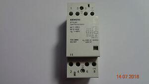 Contattore-Siemens-4-poli-5tt3801-230vac-220vdc