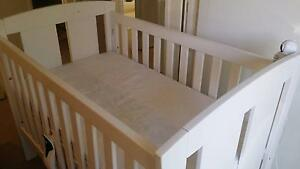 White Tasman Eco Capri Cot- classic design, recommended by Choice Rochedale South Brisbane South East Preview