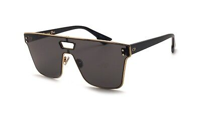 Christian Dior Izon 1 J5G/2K DiorIzon 1 Gold Black Grey Lens Men Women (Christian Dior Sunglasses For Men)