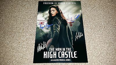 """THE MAN IN THE HIGH CASTLE PP SIGNED 12""""X8"""" A4 PHOTO POSTER ALEXA DAVALOS"""