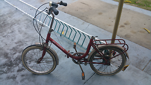 Vintage 70's compact orriginal folding bike ( campact branded ) Cannington Canning Area Preview