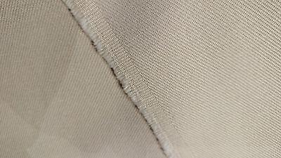 100% Cotton Off White 10 Oz. Bull Denim Canvas Twill Fabric 58