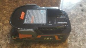 18v Ridgid Rigid Hyper Li-Ion Battery Genuine OEM 18 volt Model R840085 New!!!