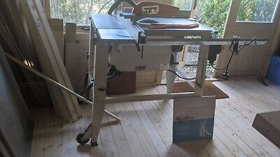 Jet JTS-315 S Site Table Saw Bench With Extensions (barely used, spare blade)
