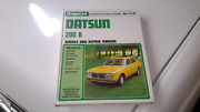 Datsun 200b work shop book  Gepps Cross Port Adelaide Area Preview