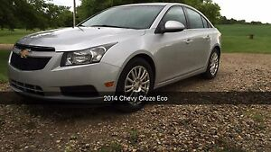 Chevrolet Cruze Eco Turbo 2014. Rev Cam/Nav/Pow Mirrors