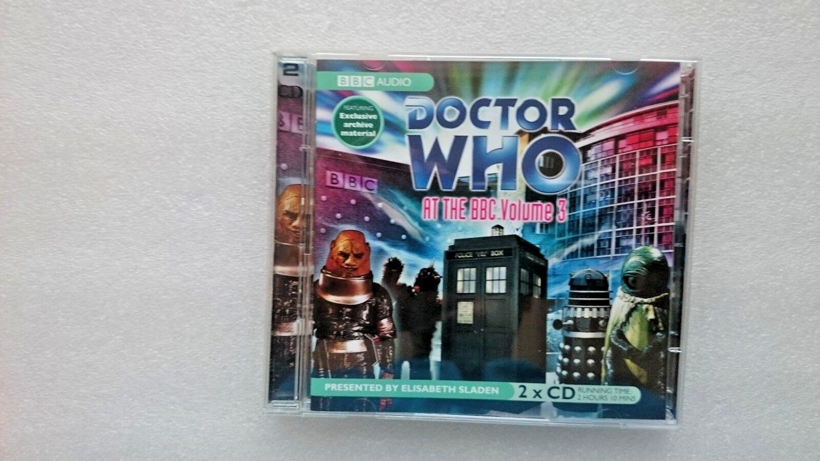Doctor Who  at the BBC: v. 3 by AudioGO Limited (CD-Audio, 2005)