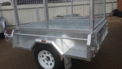 6x4 Heavy Duty Galvanised Caged Trailer Hindmarsh Charles Sturt Area Preview