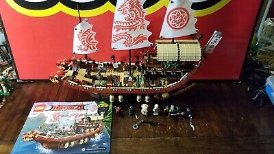 LEGO The Ninjago Movie Destiny's Bounty (70618) - Complete w/ Manual & Figures