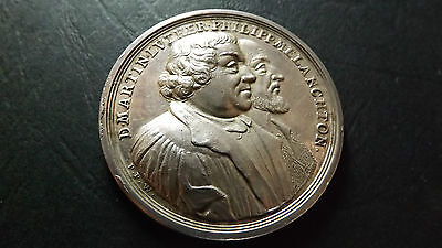Click now to see the BUY IT NOW Price! 1730 SILVER GERMANY NURNBERG REFORMATION MEDAL MARTIN LUTHER AUGSBURG CONFESSION