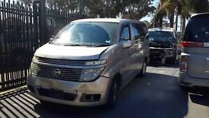 Nissan elgrand parts wrecking e51 egrand spaers 2004 elgrand Kingswood Penrith Area Preview