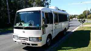 Nissan Civilian motor home 1996, 4.2 6 cylinder diesel 5 speed. Coombabah Gold Coast North Preview