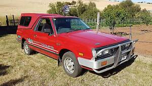 1991 Subaru Brumby Other Mid Murray Preview