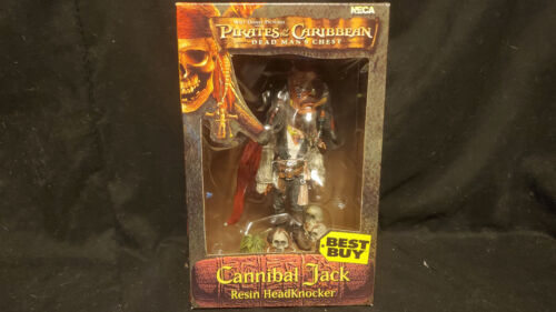 Cannibal Jack Headknockers Pirates of the Caribbean NECA Best Buy Exclusive