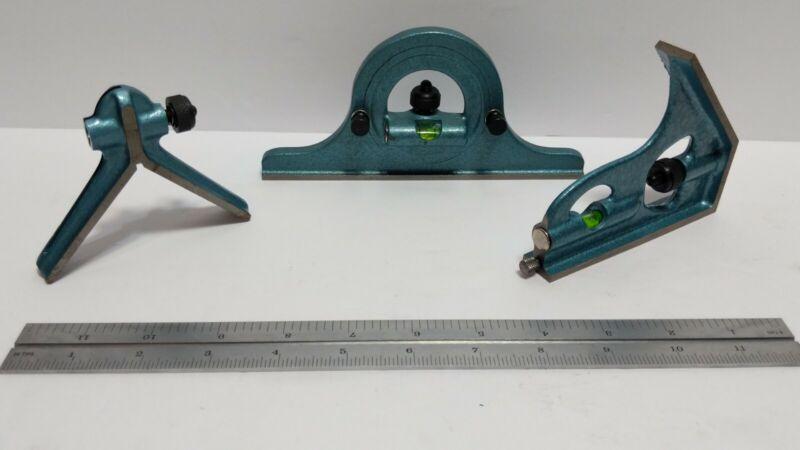 "Fowler 12"" 4PC 4R Combo Square Set 52-370-012"