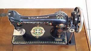 Singer Treddle Sewing Machine. Kyneton Macedon Ranges Preview