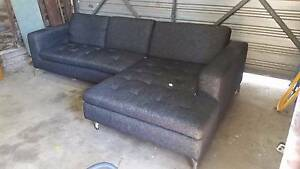 Sofa with chaise Rocklea Brisbane South West Preview