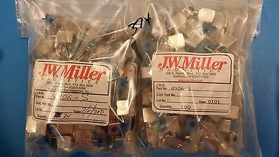 15 Pcs 4906-s Jw Miller Variable R.f. Inductor 0.184-0.262uh