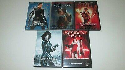 5 DVDs - Superhelden Frauenpower / Sammlung, Konvolut DVD